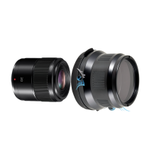 Pack Panasonic 30mm f/2,8 macro avec hublot et bague zoom Nauticam