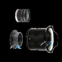 Pack Panasonic 9-18mm f/4,5-5,6 avec dôme et bague zoom Nauticam