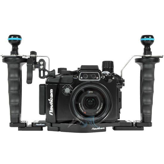Pack Pro NA-RX100V (flexitray Inc., poignée droite, deux rotule de montage, soupape de dépression M14, extension de platine)
