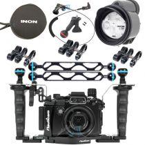 Pack Pro NA-RX100Va avec flash Inon Z-330 et Bras Nauticam