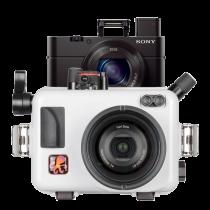 Pack Sony RX100 M3 Avec caisson Ikelite RX100 M3 et carte SD16