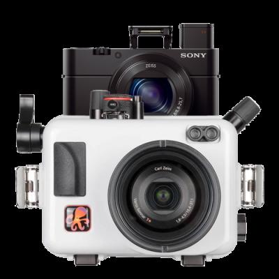 Pack Sony RX100 M5 Avec caisson Ikelite RX100 M5 et carte SD32