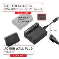 Panasonic DMW-BTC13 Chargeur de batterie