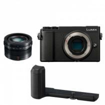 Panasonic GX9 + 15mm 1.7 LEICA + Grip
