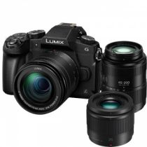 PANASONIC LUMIX DMC-G80 +12-60mm f/3.5-5.6 +45-200mm f/4.5-6.3 +25mm f/1.7