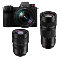 Panasonic S1R +24-105 mm F/4 + 50 F/1.4 + 70-200 f/4