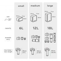 Peak design camera cube (taille large)