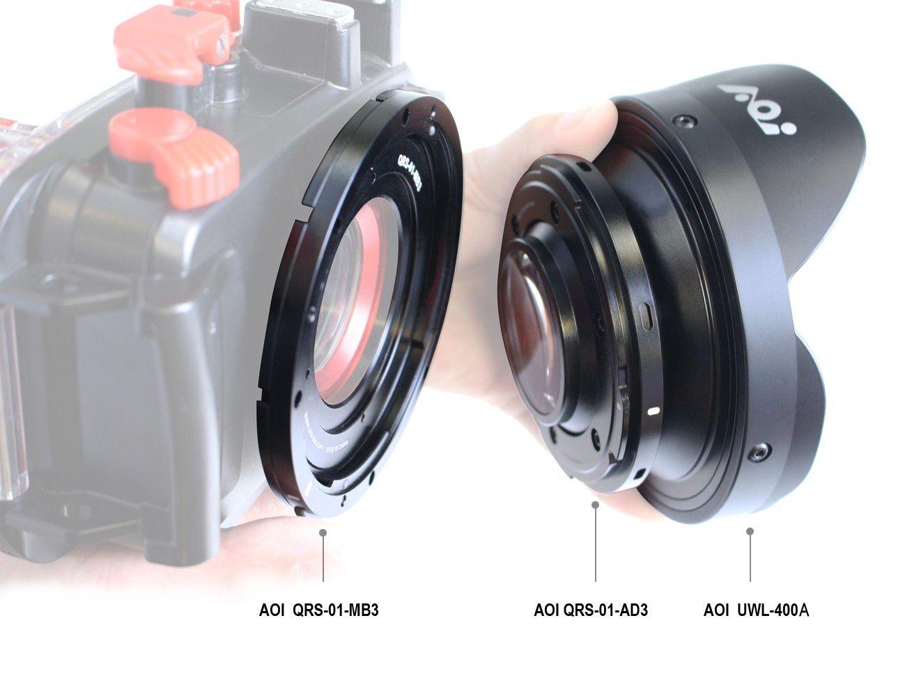QRS 01 adaptateur 3 pour AOI UWL-400A