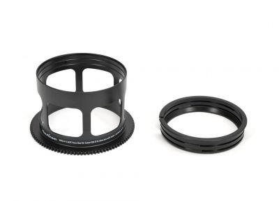 RC815-F + 1.4xTC bague de mise au point pour Canon EOS EF 8-15mm objectif avec Kenko 1.4x teleplus pro 300