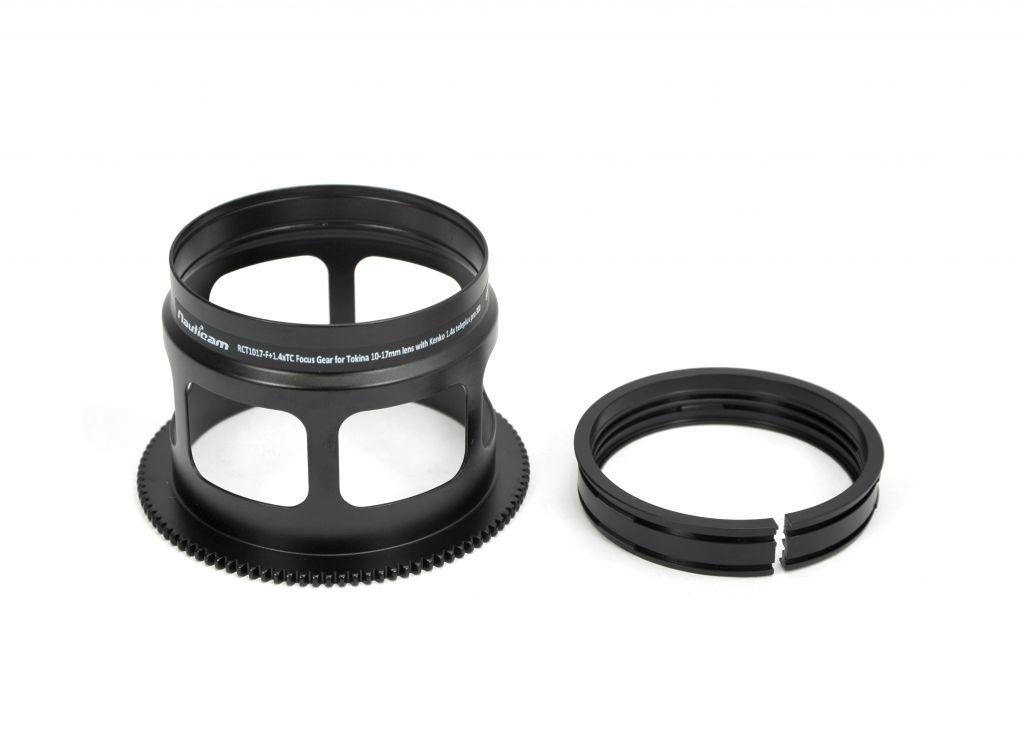RCT1017-F + 1.4xTC bague de mise au point pour objectif Tokina 10-17mm avec Kenko 1.4x teleplus pro 300