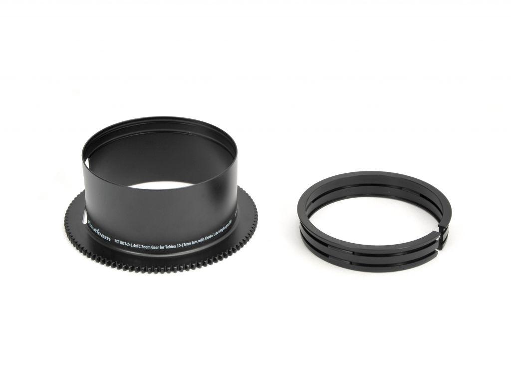 RCT1017-Z + 1.4xTC Zoom Réducteur pour objectif Tokina 10-17mm avec Kenko 1.4x teleplus pro 300