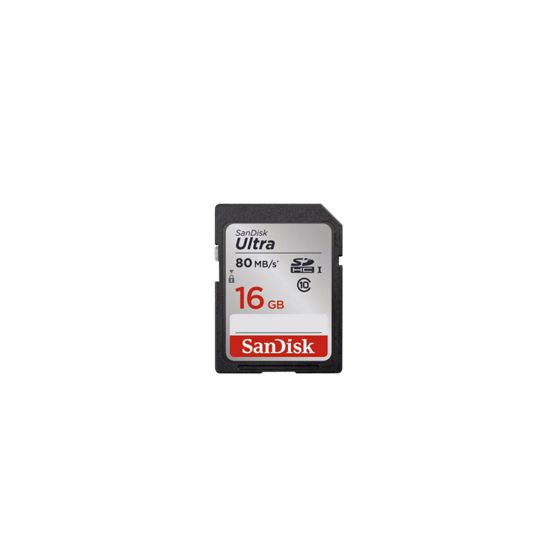 SANDISK SD Ultra 16GB 80 MO/S CL10