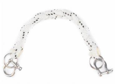 Sangle de corde nauticam 27cm avec deux manilles