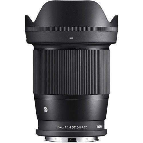 Sigma 16mm f / 1.4 DC DN  monture L