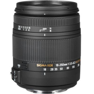 SIGMA 18-250 mm f/3,5-6,3 DC Macro HSM