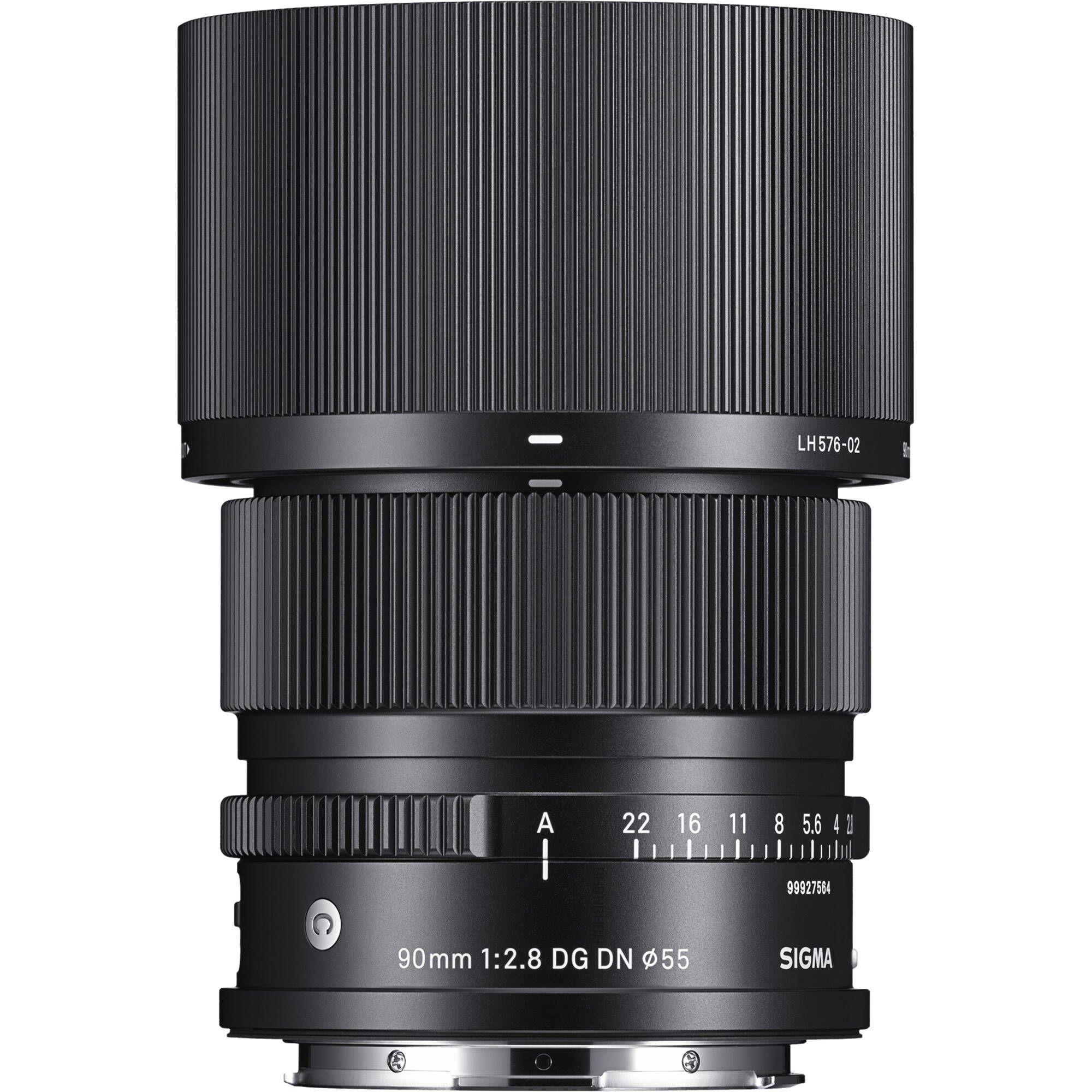 SIGMA 90 F2.8 DG DN   Contemporary monture L