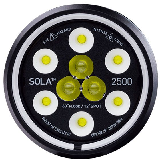 SOLA Dive 2500 S / F FC Light and Motion