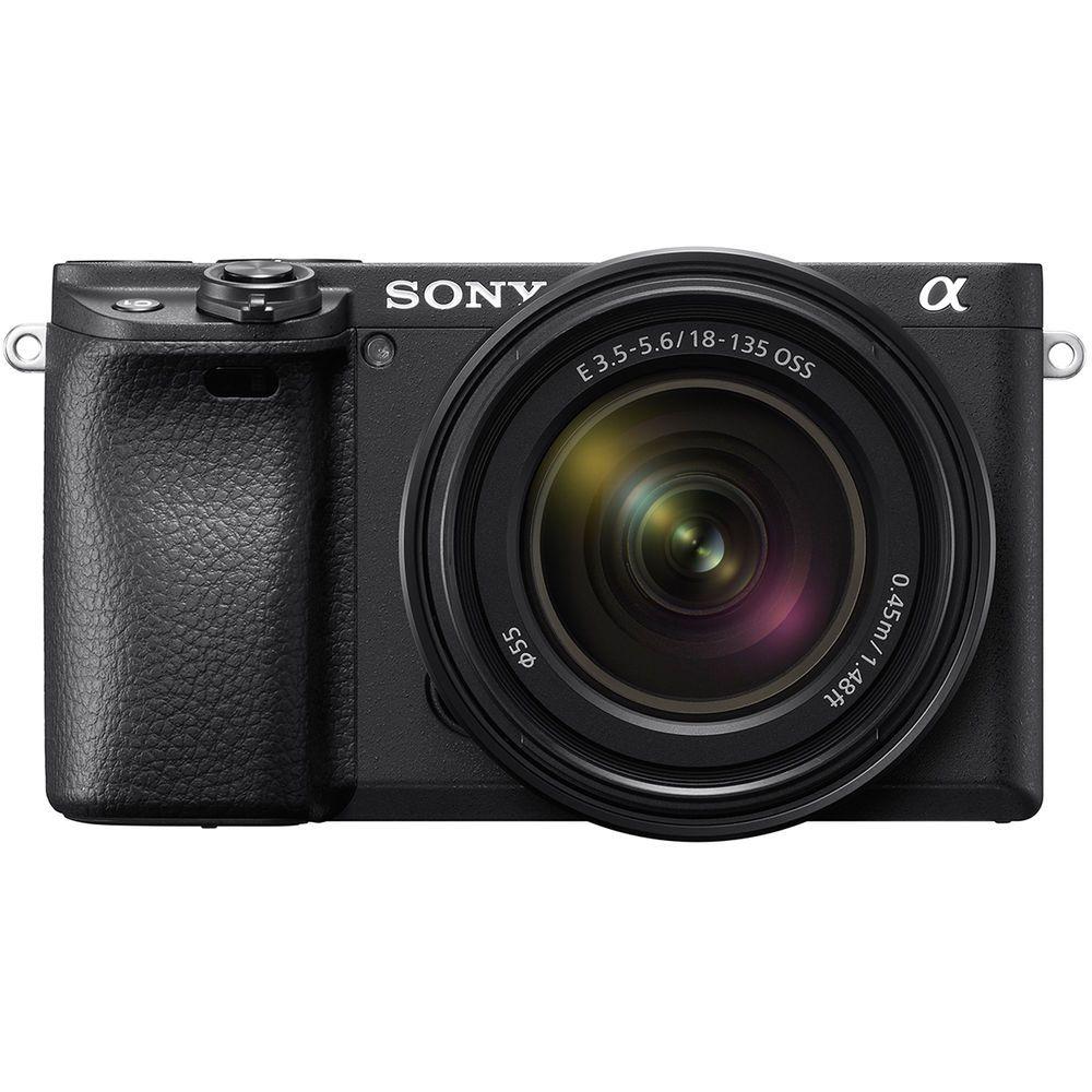 SONY ALPHA 6400 + SEL 18-135 mm f/3,5-5,6 OSS