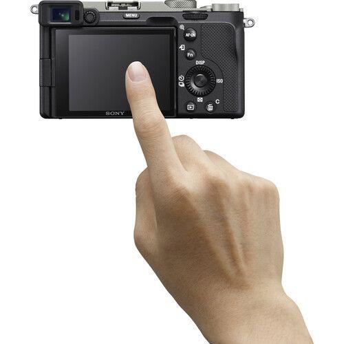 Sony Alpha A7C (boîtier uniquement, argent)