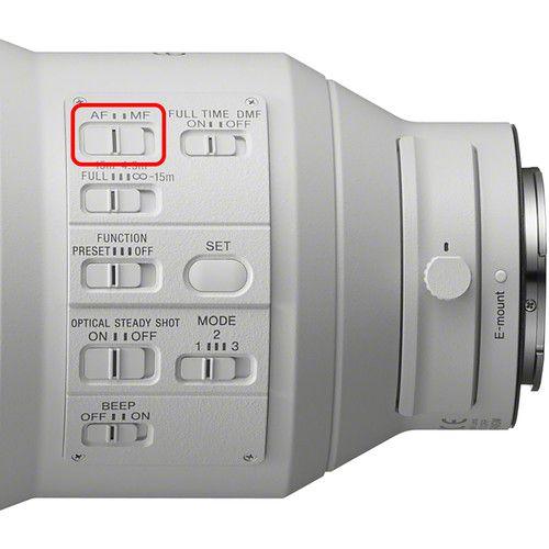 Sony FE 600 mm F4 GM OSS