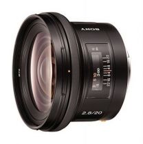 Sony Objectif  très grand angle 20 mm F 2,8 Noir SAL
