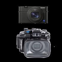 Sony RX100 M6 avec caisson Nauticam RX100 M6