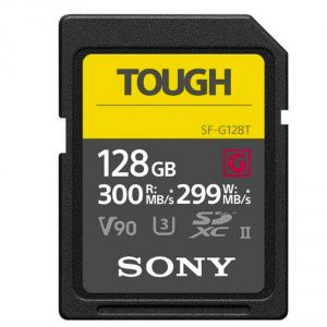 SONY SD SERIE G TOUGH 128GB R300W299 UHS-II CL 10