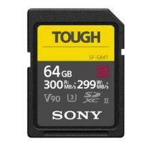SONY SD SERIE G TOUGH 64GB R300W299 UHS-II CL 10