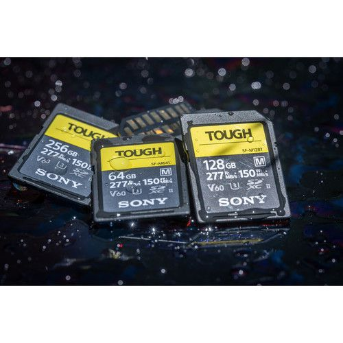 Sony SDXC UHS-II série SF-M Tough de 128 Go
