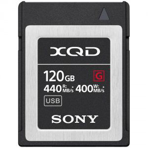SONY XQD G 120 GB HIGH SPEED R440 W400 5X STRONGER