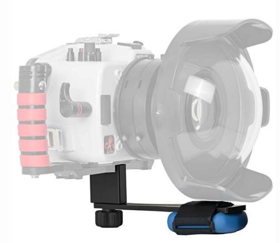 Système d\'équilibrage de poids pour boîtiers ikelite reflex
