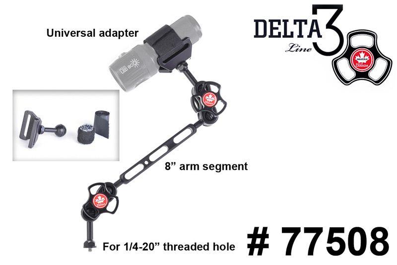 TLC bras pour lampe de mise au point à 3 section 77508