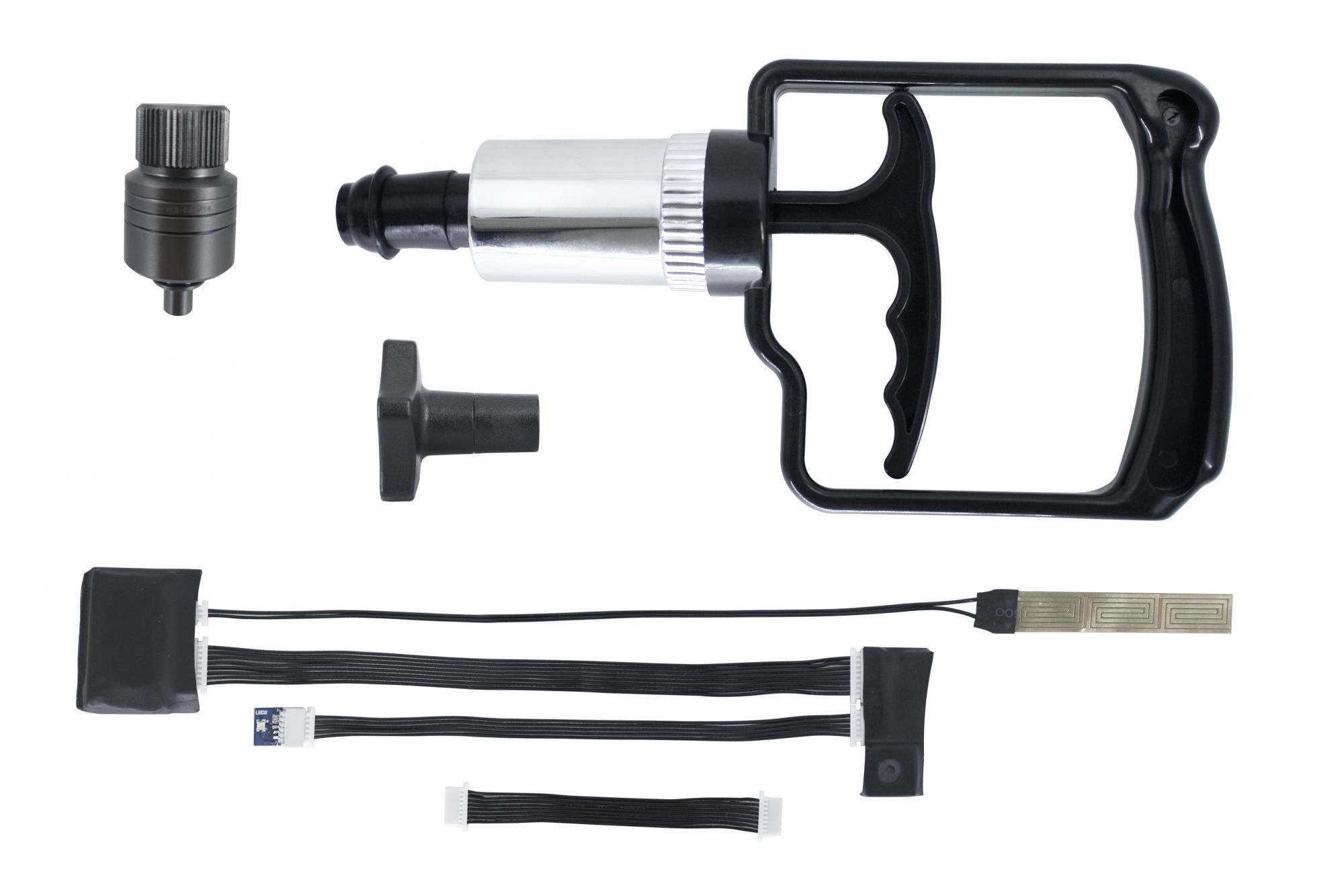 Vacuum et détecteur d\'humidité pour caisson Alu M16