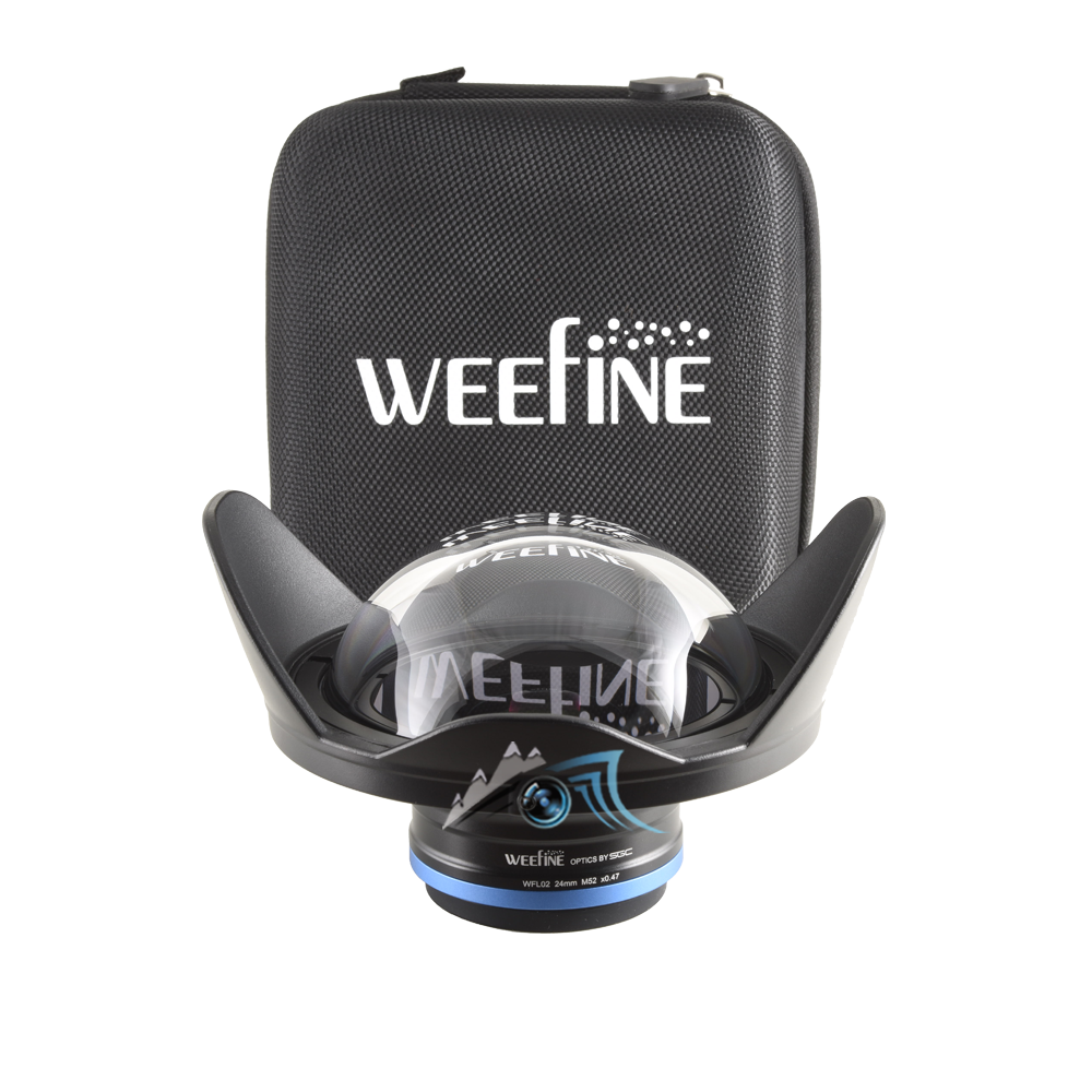 Weefine WFL02 Objectif grand angle pour 24 mm/M52